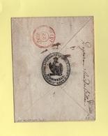 Neustadt - 100 - Mont Tonnerre - Consistoire Local - 1810 - Departement Conquis - Enveloppe Sans Correspondance - Marcofilie (Brieven)