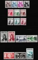 MAROC PROTECTORAT 1955-564 Y&T N° 345 à 361 N* - Unused Stamps