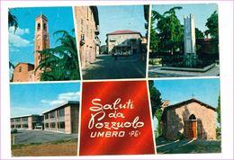 M7388 Umbria POZZUOLO UMBRO PERUGIA 1975 Viaggiata - Italy