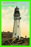 PHARES - BUFFALO LIGHT HOUSE, BUFFALO, NY - ANIMATED -  DAVID ELLIS PUBLISHER - - Phares