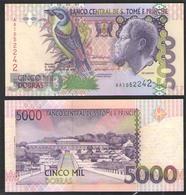 SAO TOME & PRINCIIPE  5000 DOBRAS  1996 UNC! - São Tomé U. Príncipe