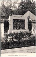 02 CLERMONT-les-FERMES - Monument Aux Morts - Other Municipalities