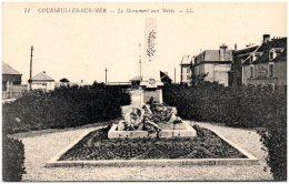 14 COURSEULLES-sur-MER - Le Monument Aux Morts - Courseulles-sur-Mer