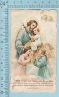 Religion, Die Cut  - St-Joseph Mon Tendre Pere, Italie 54  - Holy Card, Image Pieuse, Santini - Devotion Images