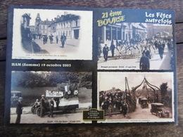 D 80 - Ham - 21e Bourse, 19 Octobre 2003 - Les Fêtes Autrefois - Ham