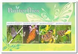 Mayreau 2012, Postfris MNH, Butterflies, Flowers - St.Vincent (1979-...)