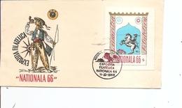 Roumanie - Nationala 66 ( FDC Privé De 1966 à Voir) - Emisiones Locales