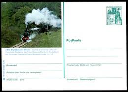 97416) BRD - P 125 - F9/131 - * Ungebraucht - 2814 Bruchhausen-Vilsen, Historischer Dampfzug - [7] West-Duitsland