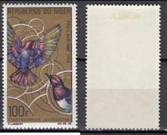 Niger 1969 - Yv A86 (MH)  Violet-backed Starling (Cinnyricinclus Leucogaster) - (see Sacn) - Uccelli Canterini Ed Arboricoli
