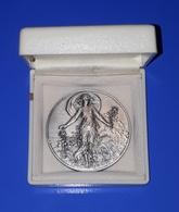 Médaille En Bronze Argentée D'Horticulture: A. D. 93 - AUBERVILLIERS 1986 - Professionals / Firms