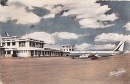 GUADELOUPE POINTE à PITRE CPSM Colorisée Collection CANDALEN AEROPORT Du RAIZET AVION AIR FRANCE 1964 - Pointe A Pitre