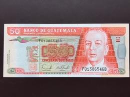 GUATEMALA P113 50 QUETZALES 2006 UNC - Guatemala
