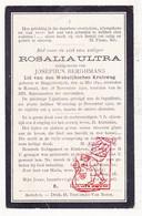 DP Rosalie Ultra ° Begijnendijk 1841 † Ramsel Herselt 1910 X J. Berghmans - Images Religieuses