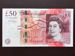 GREAT BRITAIN P393 50 POUNDS 2011 UNC - 1952-… : Elizabeth II.