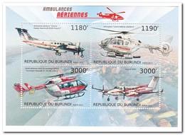 Burundi 2012, Postfris MNH, Helicopters - Burundi