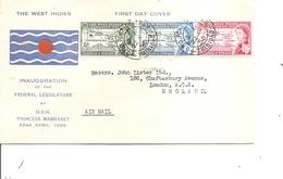 Trinité Et Tobago - Fédération Des Indes Occidentales ( FDC De 1958 à Voir) - Trindad & Tobago (...-1961)