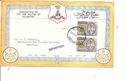 Kelantan ( FDC De 1961 Voyagé à Voir) - Kelantan