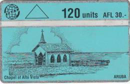 ARUBA(L& G) - Chapel Of Alta Vista, CN : 204C, Used - Aruba