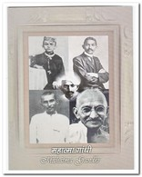 India, Postfris MNH, Mahatma Gandhi, Booklet - India