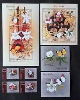 Sierra Leone  2000** MI.3493-3510 Flowers MNH [23,12] - Orchidées