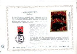 """"""" MUSEES TECHNIQUES DE MULHOUSE / TRAIN / VOITURE """" Sur DAP 1er Jour De 1986 (4000 Ex.) N° YT 2450 Parfait état. - Transporte"""