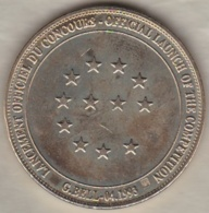 1 ECU LANCEMENT OFFICIEL DU CONCOURS COMPETITION GRAPHIQUE POUR L'ECU 1993 - Euros Of The Cities
