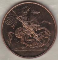 Medal  St. George's Chapel Windsor Castel - St George Terrassant Le Dragon - Royaume-Uni