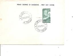Italie - Mazzini ( FDC De 1955 à Voir) - 1946-60: Marcofilie