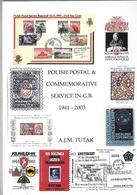 1941--2003. POLISH & COMMEMORATIVE SERVICE IN G.B. - Books, Magazines, Comics
