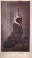 250918B - PHOTO ANCIENNE ARTISTE 1900 CELEBRITE OPERA COMEDIE - BLANCHE PIERSON Comédie Française ILE DE LA REUNION - Célébrités