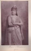 250918B - PHOTO ANCIENNE ARTISTE 1900 CELEBRITE OPERA COMEDIE - RENEE RICHARD Opéra CHERBOURG - Berühmtheiten