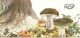 ROMANIA, 1994, Booklet 11, Mushrooms - Carnets