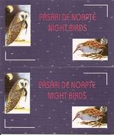 ROMANIA, 1998, Booklet 12/13, Night Birds - Carnets