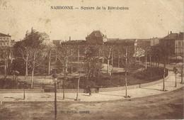 11 - Narbonne - Square De La Révolution - Narbonne