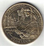 Medaille Arthus Bertrand 37.Amboise Clos Lucé - Joconde Mona Lisa 2012 - Arthus Bertrand