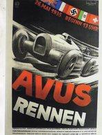 Avus Rennen  -  26 Mai 1935  -  Publicité  -  CPR - Grand Prix / F1