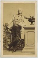 CDV Militaire Circa 1860 . Pierre Antoine Biesse , Alors Commandant Des Lanciers De La Garde Impériale . - Ancianas (antes De 1900)