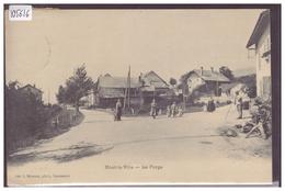 DISTRICT DE COSSONAY - MONT LA VILLE - LA FORGE - TB - VD Vaud