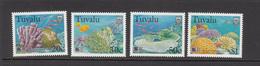 1998 Tuvalu Greenpeace Save Our Seas Fish Marine Live Complete Set Of 4 MNH - Tuvalu (fr. Elliceinseln)