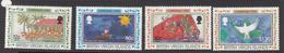 1995 Virgin Islands Christmas Noel  Complete Set Of 4 MNH - British Virgin Islands
