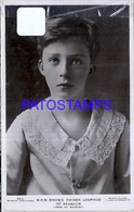 100294 ROYALTY CROWN PRINCE LEOPOLD OF BELGIUM POSTAL POSTCARD - Familles Royales