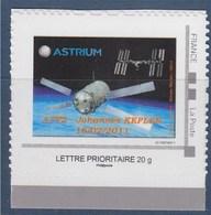 = Personnalisé Neuf Cadre Phil@poste TVP LP Astrium ATV2 Johannes Kepler 10/02/2011 - Personalizzati (MonTimbraMoi)