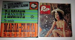 """POP IL DISCO TASCABILE  6"""" 45 GIRI THE COCONADOS MARIA ELENA CON RIVISTA - Dischi In Vinile"""
