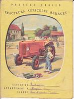 VP-GF.18-541 : PROTEGE-CAHIER TRACTEURS AGRICOLES RENAULT - Agriculture