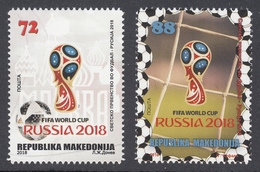 Macedonia 2018 FIFA World Cup Russia 2018, Soccer, Football, Sport, Set MNH - 2018 – Russia