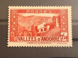 ANDORRE FRANCAIS - Neuf* - 1938 - Andorre Français