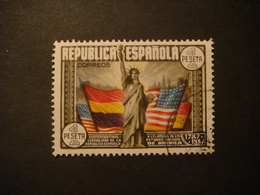SPAGNA / SPAIN 1938 - 150TH ANNIVERSARY OF THE UNITED STATES USED - 1931-50 Usati