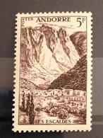 ANDORRE FRANCAIS - Neuf** - 1955 - Nuevos