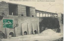 DPT 79 COULONGES Sur L'Autise Les Fours à Chaux Lavoix CPA TBE - Coulonges-sur-l'Autize