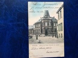 Vilvorde-Vilvoorde/l'école Des Filles,chaussée De Louvain-animée-1904 - Vilvoorde
